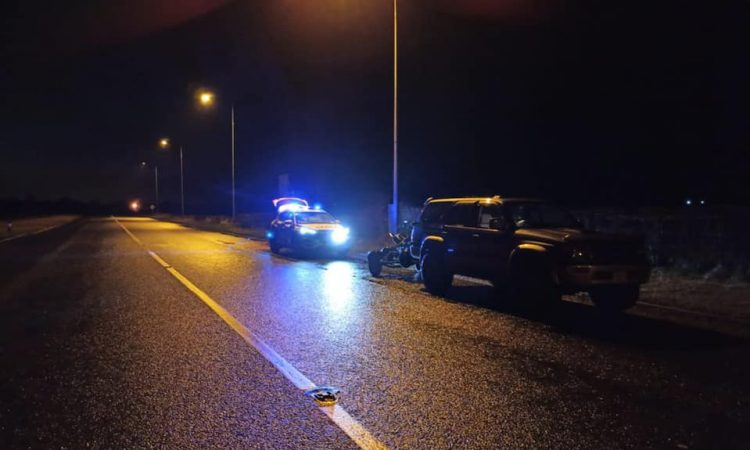 Driver of 4×4 towing trailer arrested in Carlow