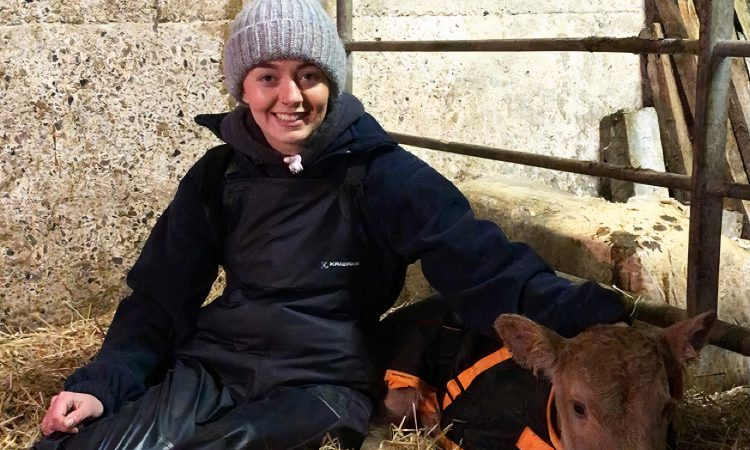 Starting young: 'I always got to help feeding calves, even if I did spill most of the milk'