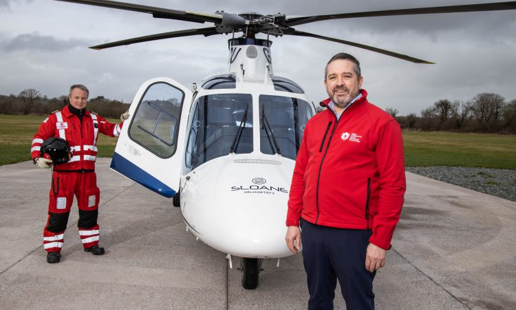 ICRR air ambulance called to 46 farming accidents in 2020