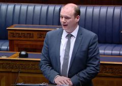 'It's good to see the minister face-to-face' Ag Committee chairman tells chamber