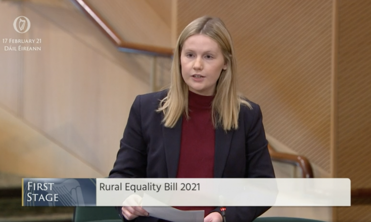 'We have a once-in-a-lifetime opportunity': Rural Equality Bill 2021 introduced in the Dáil