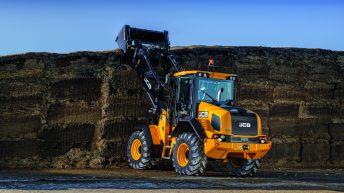 Pics: JCB cranks up the power in mid-range wheeled loaders