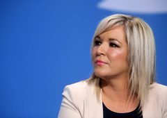 Michelle O'Neill warns of 'no credible alternative to the protocol'