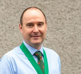 Little elected as new president of NIVA and BVA NI branch