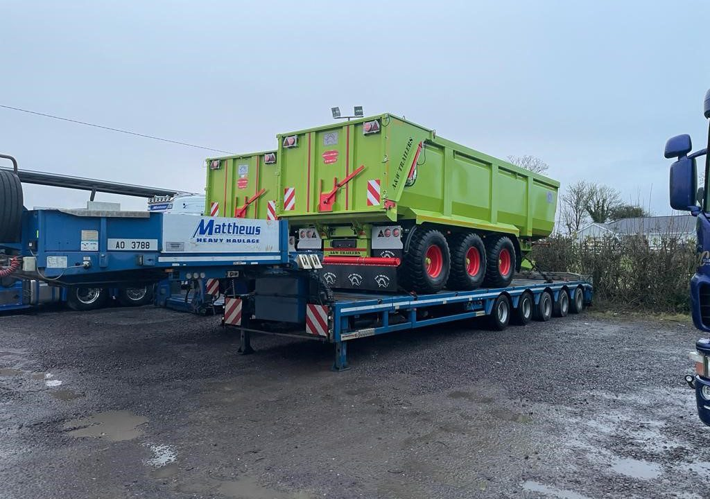 From Meath to Down Under: 2 26ft silage trailers set off on 17,000km voyage