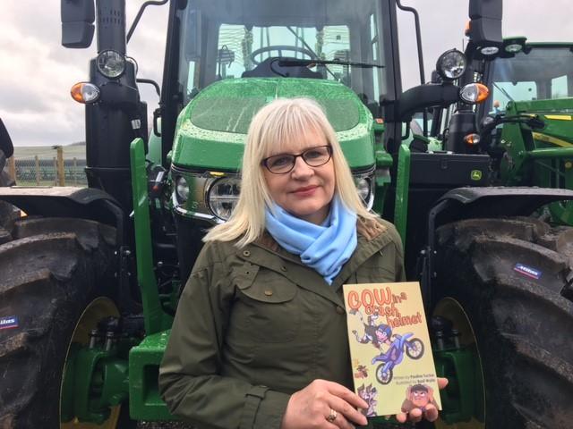 'Cow in a Crash Helmet' revs up kids' reading