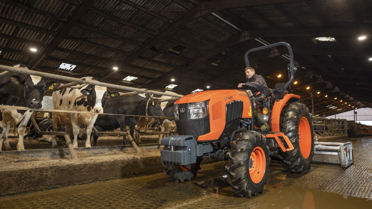 Kubota launches new Stage V L1 and L2 series