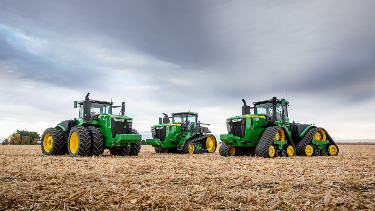 John Deere announces new 9R Series tractor range