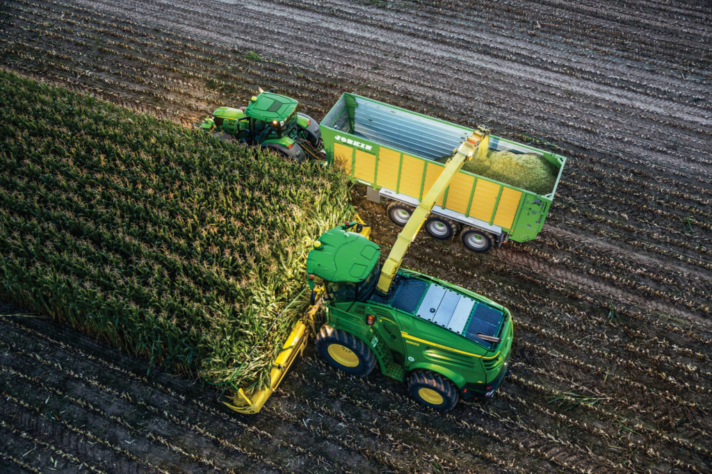 John Deere expands Machine Sync system to forage harvesters and tractors