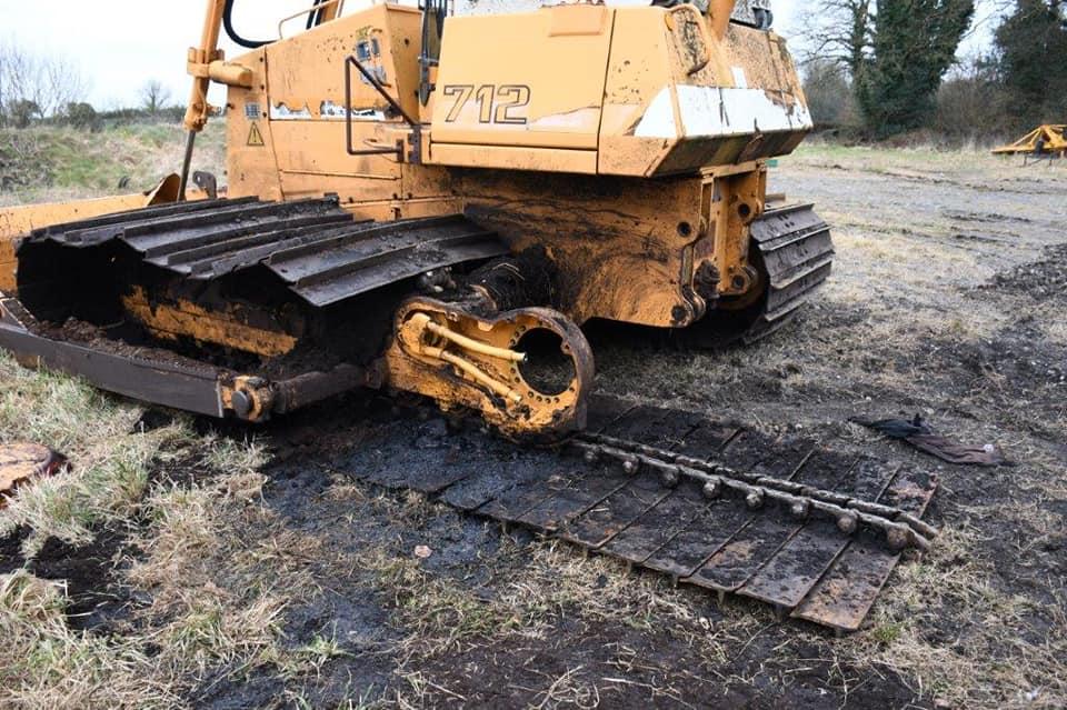 Bord na Móna machinery stolen from midlands bog