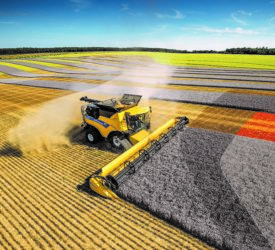 New Holland combine harvesters win medals at SIMA Innovation Awards