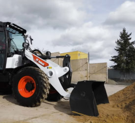 Bobcat compact wheel loader wins global design award