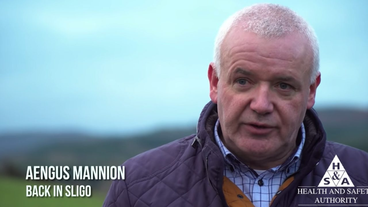 'Happened in a flash': Sligo farmer underlines importance of safety checks