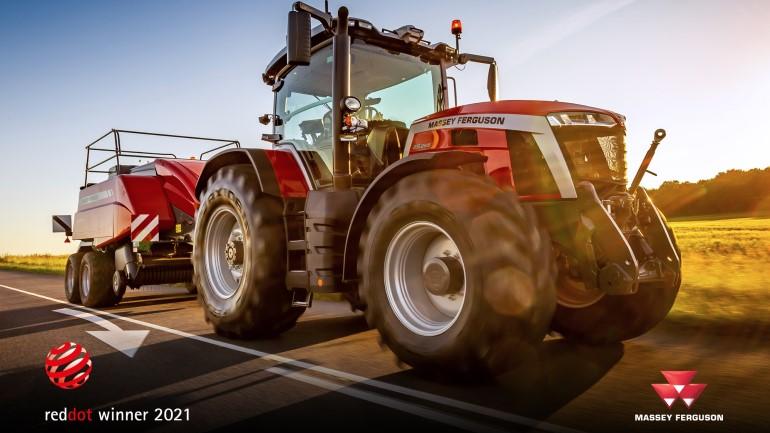 Massey Ferguson wins Red Dot Award for MF 8S tractor series