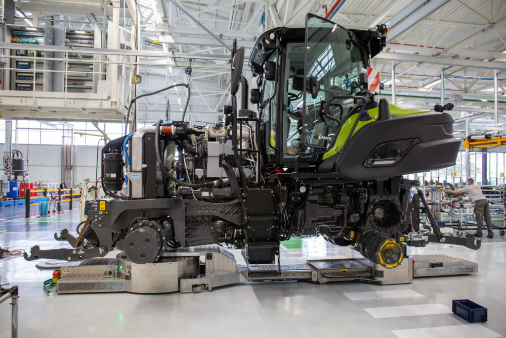 Claas production