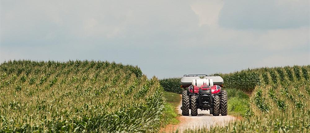Case autonomous tractor
