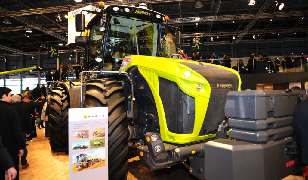 French tractor sales - axema