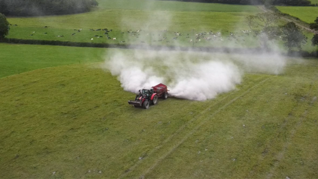 Correcting soil fertility on your silage fields with lime