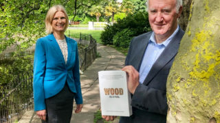 Minister Hackett launches publication on wood fuels