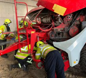 Laois firefighters 'get to grips' with agri-machinery rescues