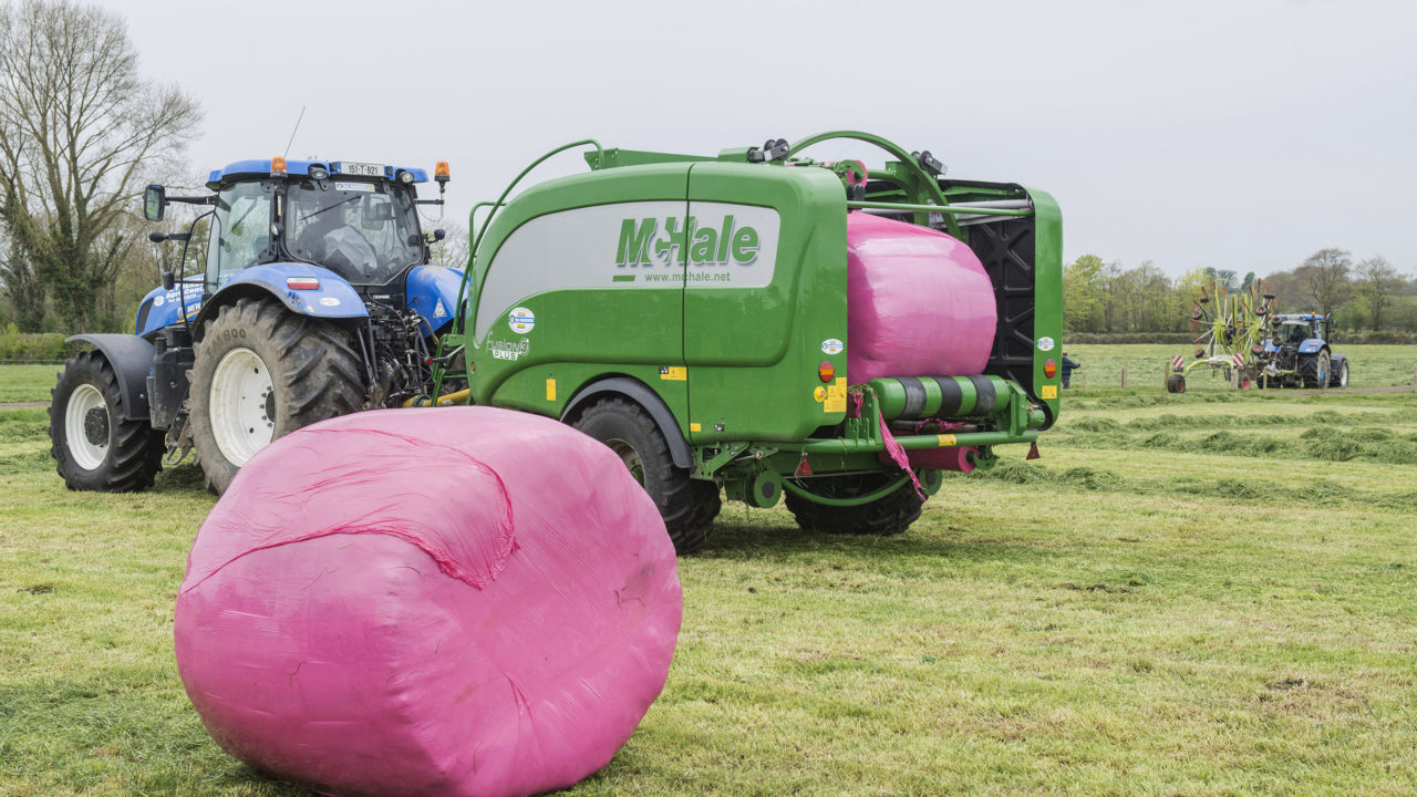 Pink bales return: Dairygold links up with Irish Cancer Society once more