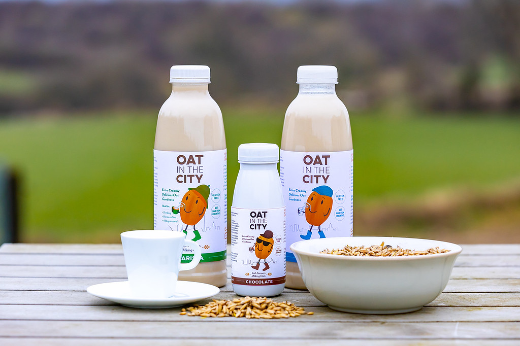 Milking Irish oats: Midlands farmer launches 'Oat in the City'