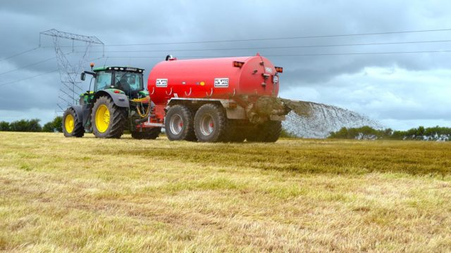 Replacing the nutrients after making bales