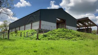 A grant-spec sheep shed for a 300-ewe flock in Co. Cavan