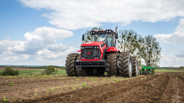 Kirovets gets up to speed with 600hp and CVT