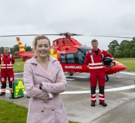 Community Air Ambulance takes ownership of fastest civilian heli in the world
