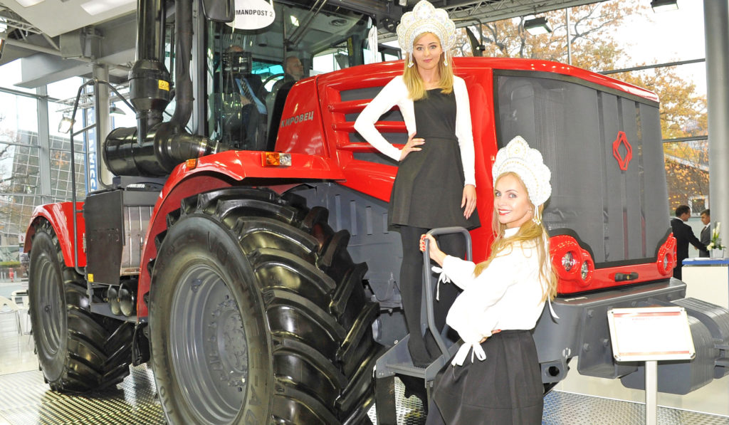 Kirovets at Agritechnica