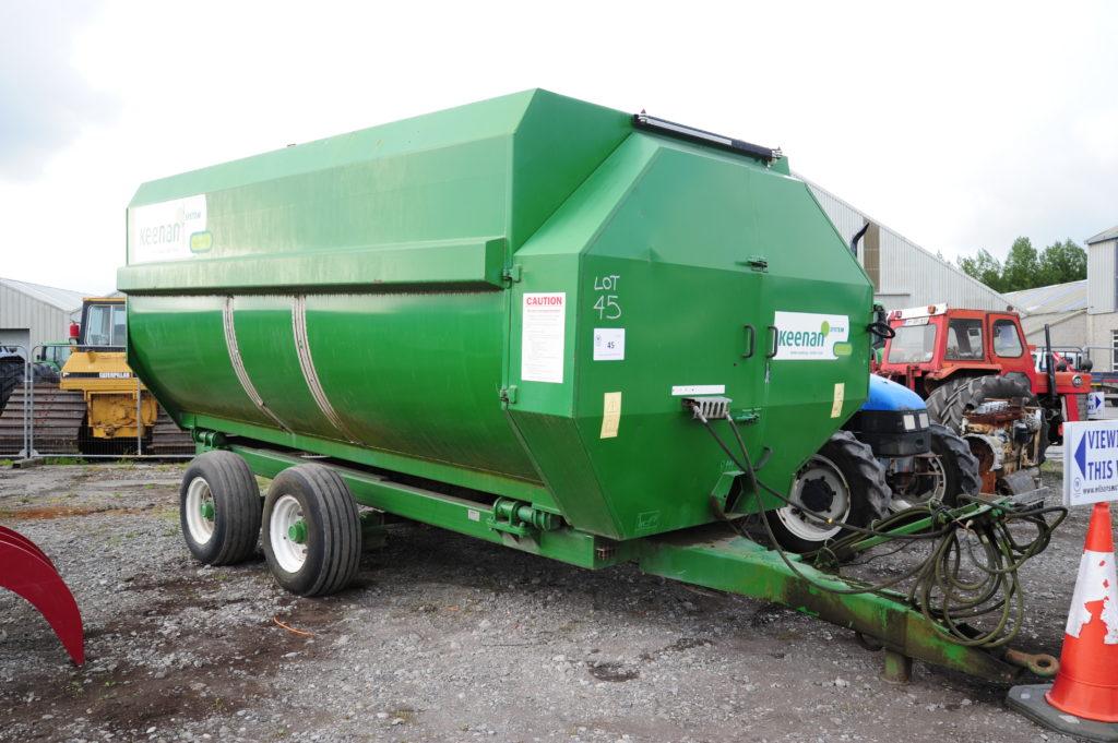 Keehan mixer wagon at Bord Na Mona
