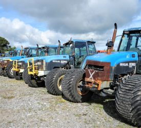 Wilsons to put 100 tractors  under its virtual hammer