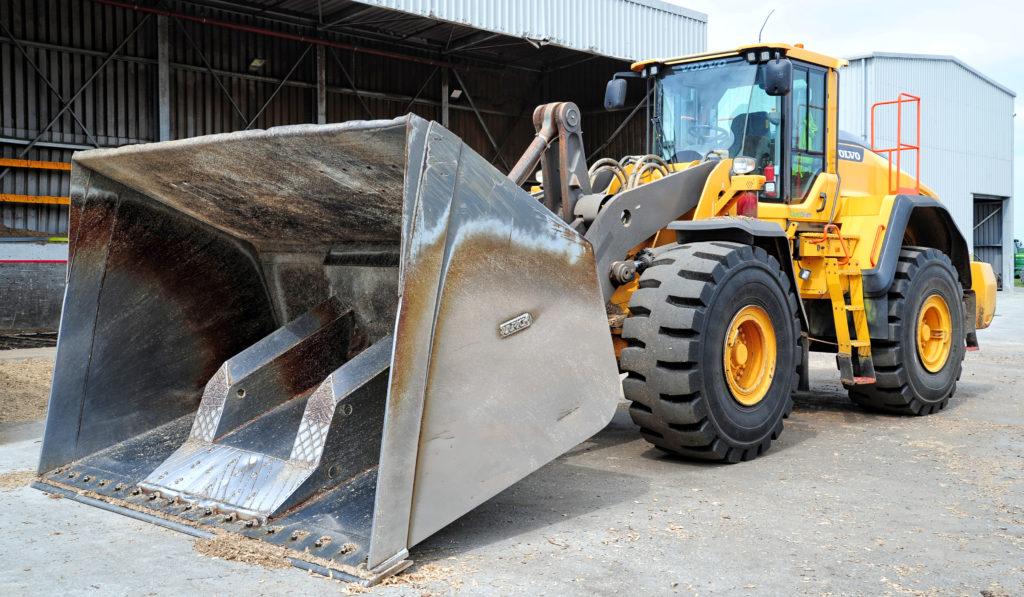 Volvo loader or biomass