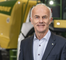 Krone development chief bows out