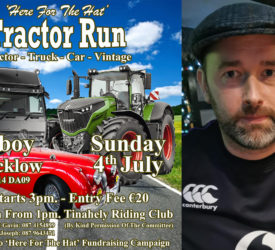 Full steam ahead for 'Here for the Hat' tractor run