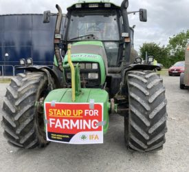 IFA protest on climate bill set for Dublin on Wednesday