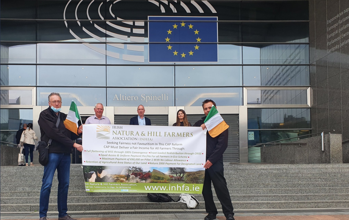 'Fairness for 73,000 farmers' is aim of INHFA trip to Brussels
