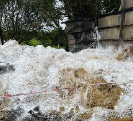 Cause of Monaghan hay barn fire still unknown