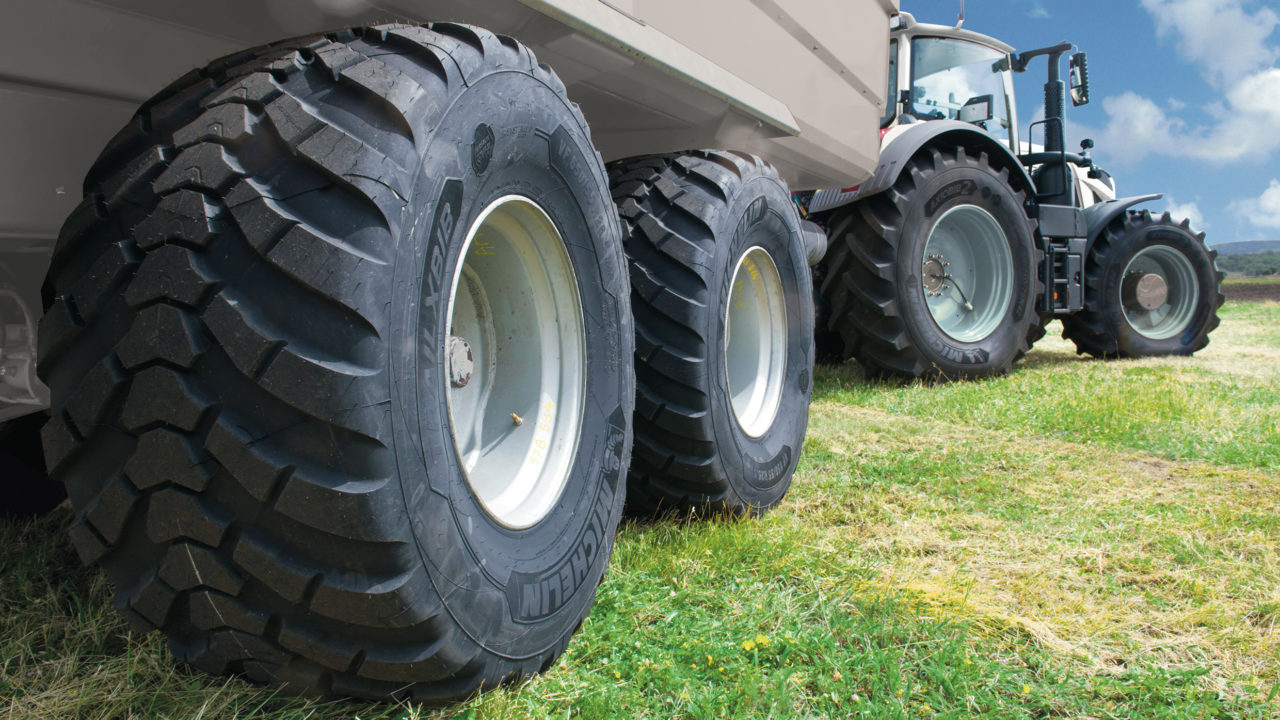 Michelin spreads its range of VF trailer tyres