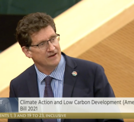 Dáil votes in favour of climate action bill