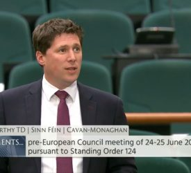 Carthy slams agriculture minister for lack of position on CAP