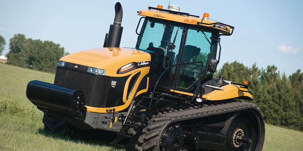 Challenger tracked tractor
