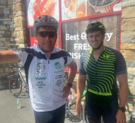 Ultra cycle: Journey continues through Donegal hills in heatwave