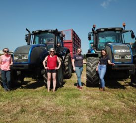 Full-throttle females driving it on in agri-contracting world