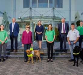 Aurivo names guide dog group as charity partner for 2021