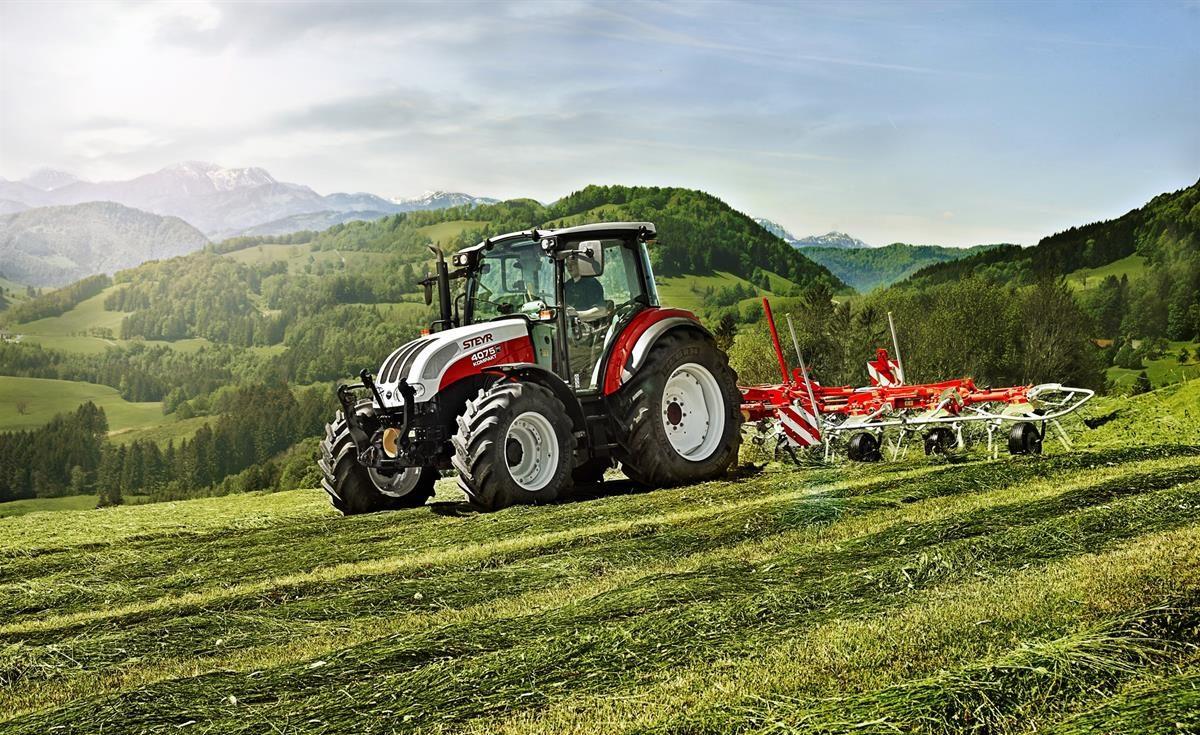 Steyr kompakt tractor