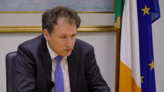 Minister Charlie McConalogue discusses young farmers