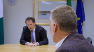 Minister Charlie McConalogue post CAP agreement interview