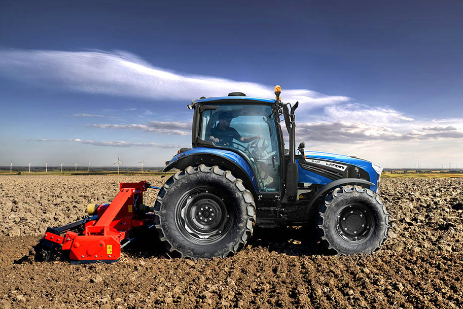 New Landini tractors feature increased sophistication and a new engine